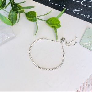 Giani Bernini Jewelry - Cubic Zirconia Bracelet Sterling Silver